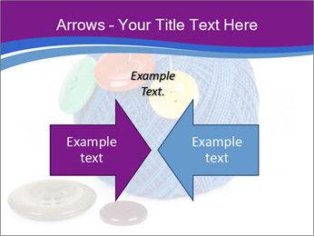 Ball of Blue Threads PowerPoint Templates - Slide 90