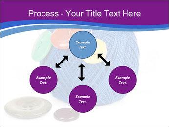 Ball of Blue Threads PowerPoint Templates - Slide 91