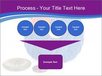 Ball of Blue Threads PowerPoint Templates - Slide 93