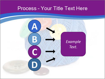 Ball of Blue Threads PowerPoint Templates - Slide 94