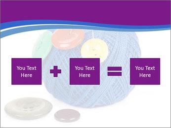 Ball of Blue Threads PowerPoint Templates - Slide 95