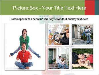 Yoga Family PowerPoint Templates - Slide 19