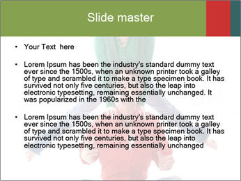 Yoga Family PowerPoint Templates - Slide 2