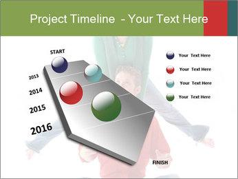 Yoga Family PowerPoint Templates - Slide 26
