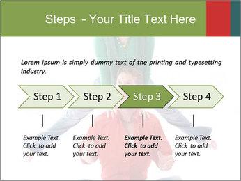 Yoga Family PowerPoint Templates - Slide 4