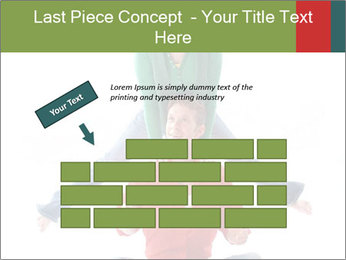 Yoga Family PowerPoint Templates - Slide 46