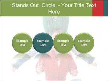 Yoga Family PowerPoint Templates - Slide 76