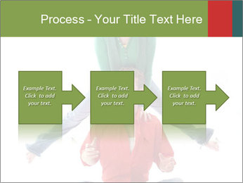 Yoga Family PowerPoint Templates - Slide 88