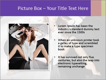 Black and White Concept in Fashion PowerPoint Template - Slide 13