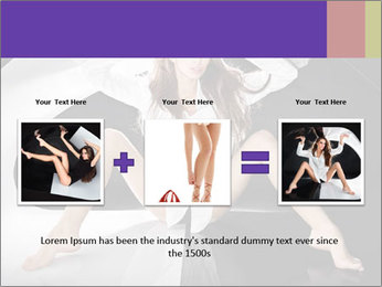 Black and White Concept in Fashion PowerPoint Template - Slide 22