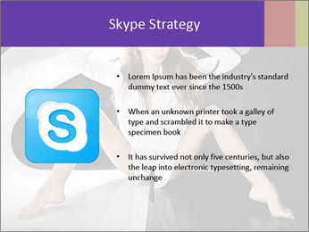 Black and White Concept in Fashion PowerPoint Template - Slide 8