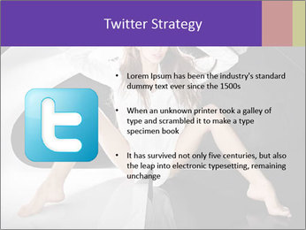 Black and White Concept in Fashion PowerPoint Template - Slide 9