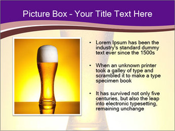 Huge Glass of Light Beer PowerPoint Template - Slide 13