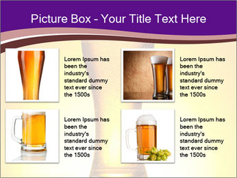 Huge Glass of Light Beer PowerPoint Template - Slide 14