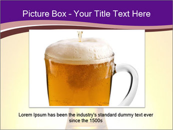 Huge Glass of Light Beer PowerPoint Template - Slide 16