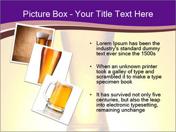 Huge Glass of Light Beer PowerPoint Template - Slide 17