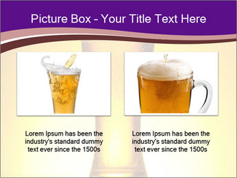 Huge Glass of Light Beer PowerPoint Template - Slide 18