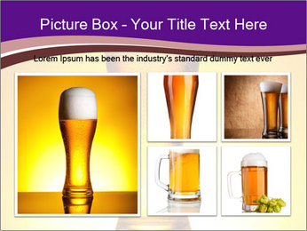 Huge Glass of Light Beer PowerPoint Template - Slide 19