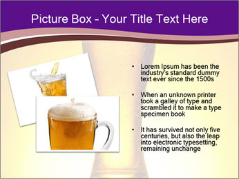 Huge Glass of Light Beer PowerPoint Template - Slide 20