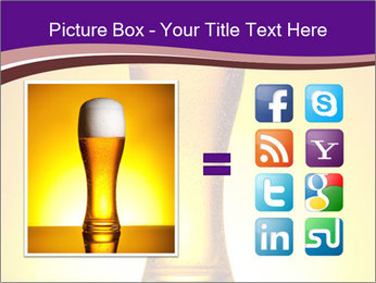 Huge Glass of Light Beer PowerPoint Template - Slide 21