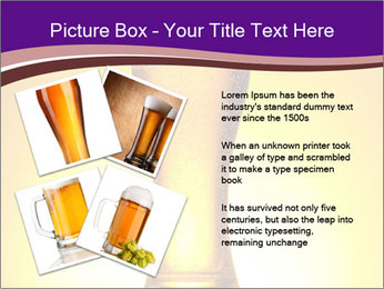 Huge Glass of Light Beer PowerPoint Template - Slide 23