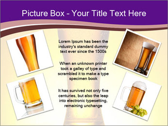 Huge Glass of Light Beer PowerPoint Template - Slide 24
