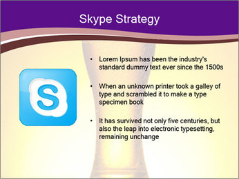Huge Glass of Light Beer PowerPoint Template - Slide 8