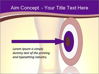Huge Glass of Light Beer PowerPoint Template - Slide 83