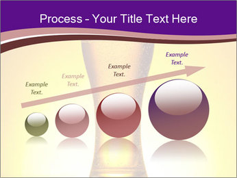 Huge Glass of Light Beer PowerPoint Template - Slide 87