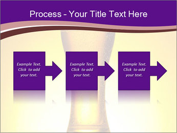 Huge Glass of Light Beer PowerPoint Template - Slide 88