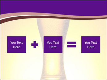 Huge Glass of Light Beer PowerPoint Template - Slide 95