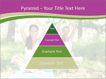 Woman Doing Forest Yoga PowerPoint Templates - Slide 30