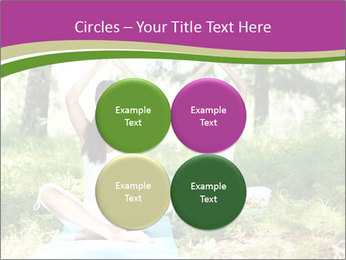 Woman Doing Forest Yoga PowerPoint Templates - Slide 38