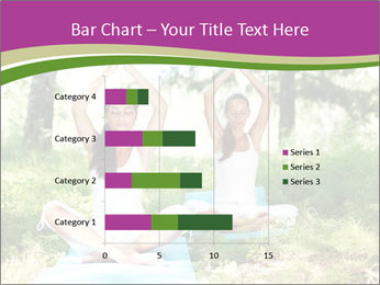 Woman Doing Forest Yoga PowerPoint Templates - Slide 52