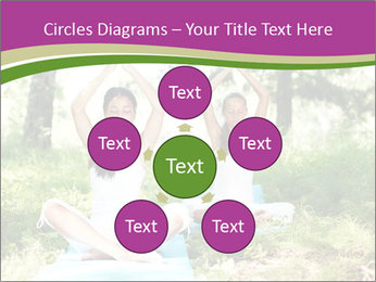Woman Doing Forest Yoga PowerPoint Templates - Slide 78
