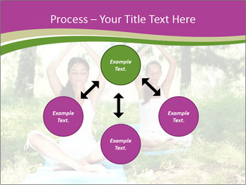 Woman Doing Forest Yoga PowerPoint Templates - Slide 91