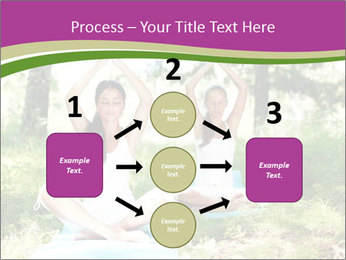 Woman Doing Forest Yoga PowerPoint Template - Slide 92