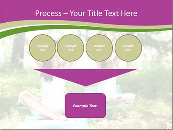 Woman Doing Forest Yoga PowerPoint Templates - Slide 93
