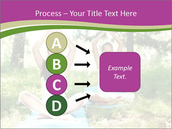 Woman Doing Forest Yoga PowerPoint Template - Slide 94