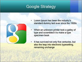 Sunny Sunflower Landscape PowerPoint Templates - Slide 10