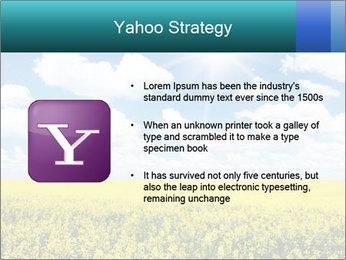 Sunny Sunflower Landscape PowerPoint Templates - Slide 11