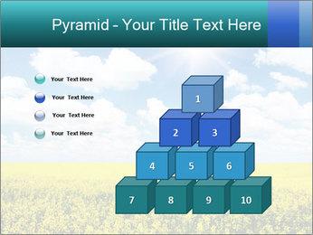 Sunny Sunflower Landscape PowerPoint Templates - Slide 31