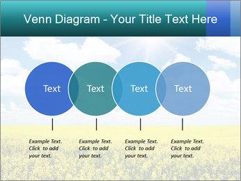Sunny Sunflower Landscape PowerPoint Templates - Slide 32