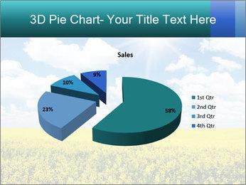 Sunny Sunflower Landscape PowerPoint Templates - Slide 35