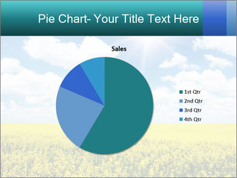 Sunny Sunflower Landscape PowerPoint Templates - Slide 36