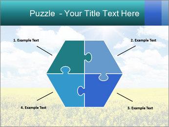 Sunny Sunflower Landscape PowerPoint Templates - Slide 40