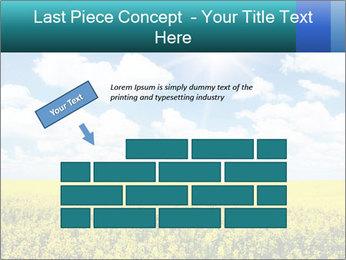 Sunny Sunflower Landscape PowerPoint Templates - Slide 46