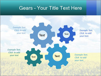 Sunny Sunflower Landscape PowerPoint Templates - Slide 47