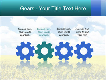 Sunny Sunflower Landscape PowerPoint Templates - Slide 48