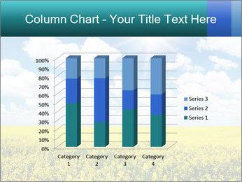 Sunny Sunflower Landscape PowerPoint Templates - Slide 50